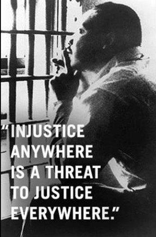 "MLK – ""Letter from Birmingham Jail"" – My Favorite"