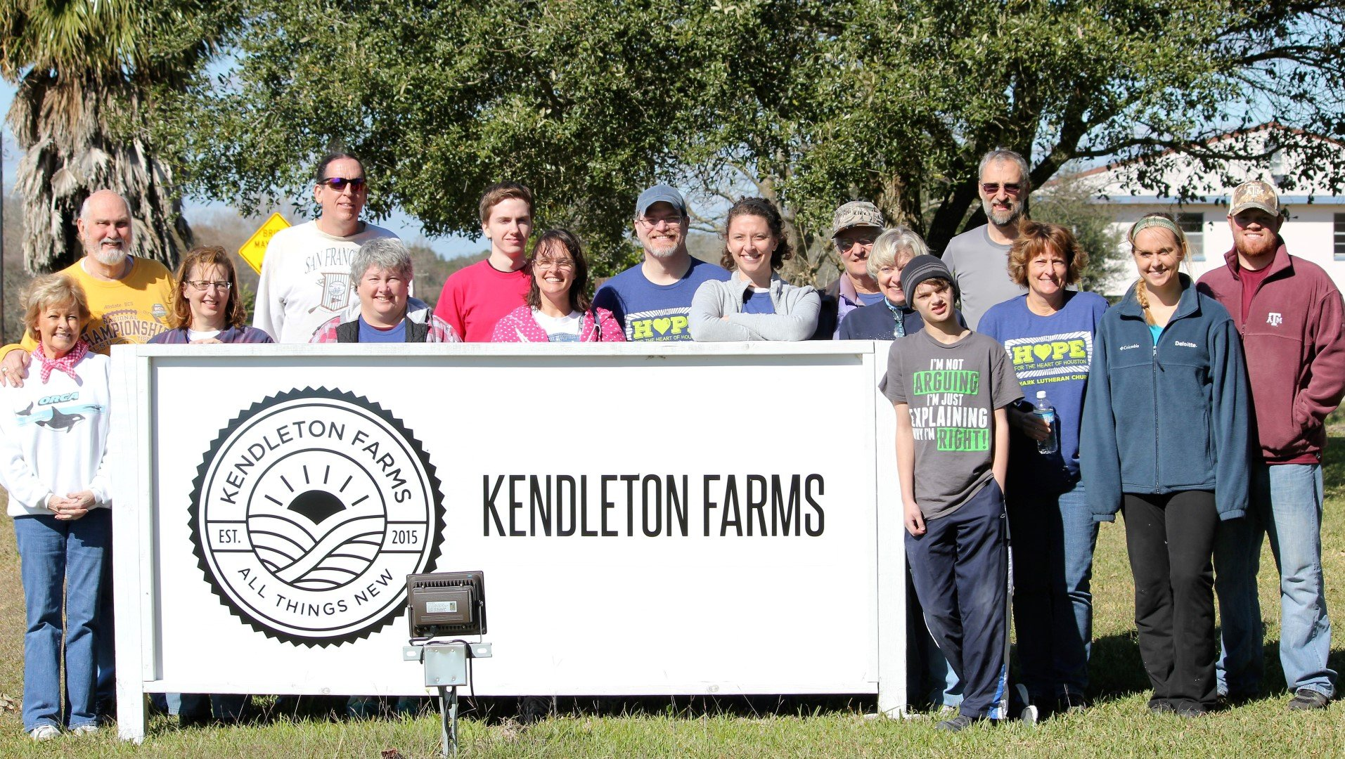 My Time at Kendleton Farms
